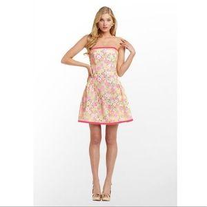 Lilly Pulitzer Jordan Sunbonnet Lace Dress 0